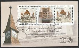 2011 - L'église Fortifiée De Biertan Mi No Block 514 - Used Stamps