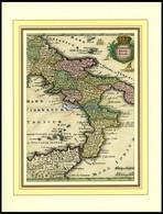 Der Unterste Teil Von Italien, Neapolitani - Süd-Italien Mit Einem Teil Von Sizilien (das Königreich Neapolis), Altkolor - Non Classificati