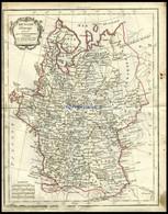 Europäisches Rußland, Russie D`Europe, Grenzkolorierter Kupferstich Aus Delamarché Petit Atlas Um 1785 - Non Classificati