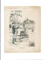 Rémouleur Affûtage  Les Petits Métiers  Protège-cahier Couverture 220 X 175  Bon état 3 Scans - Book Covers