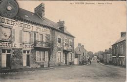 53  - Carte Postale Ancienne De Gorron  Arrivée D'Hercé   Restaurant  Boudier-Hercent - Gorron