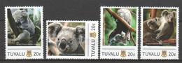 Tuvalu - MNH Set KOALA BEAR - Beren