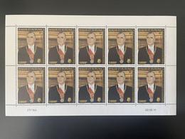 Wallis Et Futuna 2011 YT N°753 Georges Pompidou Planche Feuille Entière Full Sheet Bogen MNH** - Unused Stamps