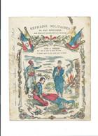 Refrains Militaires TUÉS À L'ÉNNEMI Protège-cahier Couverture 220 X 175 En L'état 3 Scans - Book Covers