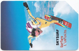 ITALY I-128 Magnetic Telecom - Leisure, Sky Diving - Used - Public Ordinary