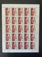 Wallis Et Futuna 2011 YT N°752 Contre L'alcool Against Alcohol Alkohol Planche Feuille Entière Full Sheet Bogen MNH** - Unused Stamps