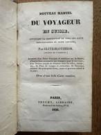 (Suisse, Chamonix) Robert GLUTZ-BLOTZHEIM : Nouveau Manuel Du Voyageur En Suisse, 1826. - 1801-1900