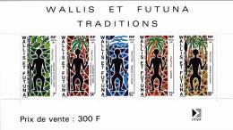 WALLIS - BLOC YVERT N°5 ** MNH - COTE = 9.5 EUROS - - Blocks & Sheetlets