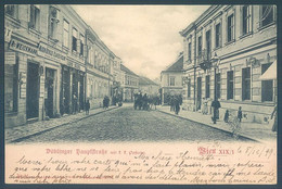Austria WIEN Dublinger Hauptftrasse 1899 - Unclassified