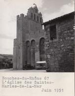 Les Saintes-Maries-de-la-Mer 13 - 1 Photographie - Eglise - Juin 1951 - Saintes Maries De La Mer