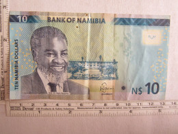 Billet Bank Of Namibia Ten Nanibia Dollars - Namibia