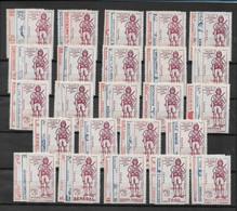 DEFENSE De L'EMPIRE Série Complète 72 Val. Neufs**/* (10 Ex. Charnières Légères) TTB/SUP - 1941 Défense De L'Empire