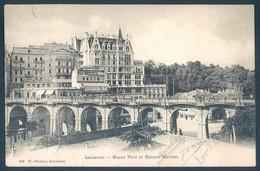 VD Vaud LAUSANNE Grand Pont Et Maison Mercier - VD Vaud