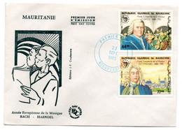 Mauritanie / 1er Jour / Bach - Haendel / Nouakchott  / 23-09-1985 - Mauritania (1960-...)