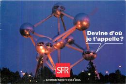 Carte Publicité Pour  SFR . Devine D'où Je T'appelle ... - Advertising
