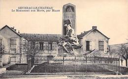 12 - SEVERAC Le CHATEAU : Le Monument Aux Morts ( Par Malet ) - CPA Village (4.120 Habitants) - Aveyron - Altri Comuni