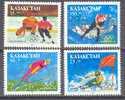 1994. Kazakhstan, Winter Olympic Games Lillehammer, 4v, Mint/** - Kazakhstan