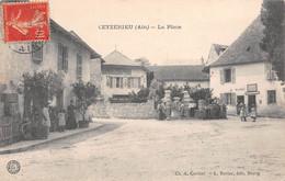 CEYZERIEU - La Place - Mairie, Fontaine - Altri Comuni