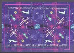 1997. Kazakhstan, Cosmonautics Day, Sheetle10, Mint/** - Kazakhstan