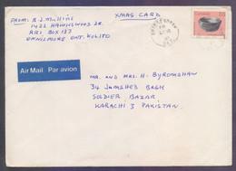 CANADA Postal History Big Cover Used 1987 - Cartas
