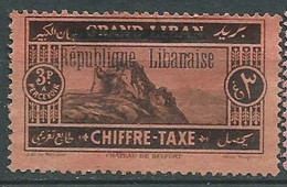 Grand Liban Taxe    -   Yvert N° 24 (*) -  Pa22206 - Segnatasse
