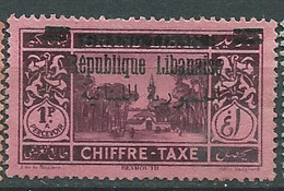 Grand Liban Taxe    -   Yvert N° 22 (*) -  Pa22207 - Segnatasse