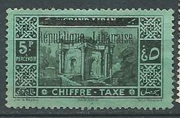 Grand Liban Taxe    -   Yvert N° 25 (*) -  Pa22209 - Segnatasse