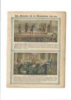 """Annales De La Révolution QUETELET ANATOMIE Mensurations """"Etonnant Tableau"""" Protège-cahier Couverture   Bien 3 Scans - Book Covers"""