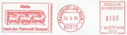 Freistempel Kleiner Ausschnitt 845 Steinzeit Tempel - Machine Stamps (ATM)