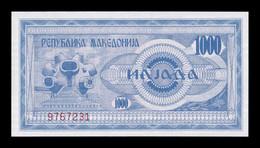 Macedonia 1000 Denari 1992 Pick 6 SC UNC - Macedonia