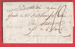 MARQUE REVOLUTIONNAIRE 54 LE PORT DE LA LIBERTE 1799 PORT LOUIS MORBIHAN AUXERRE YONNE INDICE 18 - 1801-1848: Precursors XIX