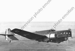 PHOTO RETIRAGE REPRINT AVION    BLOCH 210 - Aviation