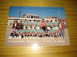 "Calendar Of Pocket  "" Soccer, Futebol - Antas Futebol Clube   "" Advertising - Formato Piccolo : 1981-90"