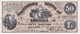 BILLETE DE ESTADOS UNIDOS DE 50 DOLLARS DEL AÑO 1861 (REPRODUCCIÓN) - Other