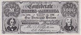 BILLETE DE ESTADOS UNIDOS DE 1000 DOLLARS DEL AÑO 1861 (REPRODUCCIÓN) - Other