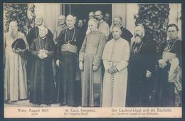 57 METZ 1907 Congrès Kongress. Le Cardinal Legat Et Les Evêques - Non Classés