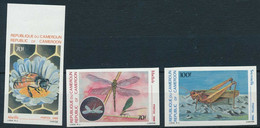 CAMEROON 1984 INSECTS IMPERF - Camerun (1960-...)