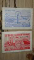 Lot De 3 Vignettes Le Havre 1948 Et 1953 Et Paris En 1913    ........ Page15 - Filatelistische Tentoonstellingen