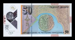Macedonia 50 Denari 2018 Pick 26 Polymer SC UNC - Macedonia