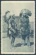 Indien Deux Chefs Iroquois - Indios De América Del Norte