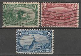 Etats-Unis N° 129, 130, 132 - Used Stamps