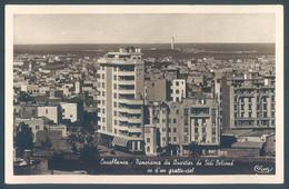 Maroc CASABLANCA Panorama Du Quartier De Sidi Belioud - Casablanca