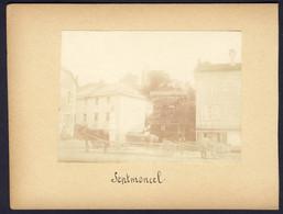 39 SEPTMONCEL Photo Originale  8 X 11 Cm Collée Sur Carton Rigide 12 X 16 Cm (photo Passée) - Antiche (ante 1900)