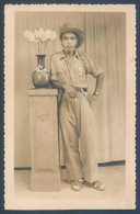 Viet Nam Hue Militaire Photo De Studio - Guerra, Militari