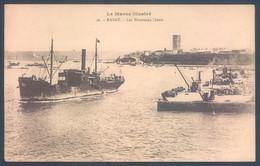 Lot De 16 Cartes Maroc RABAT Quais Port Douane Plage - Rabat