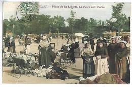 BREST - Place De La Liberté, La Foire Aux Puces - Brest