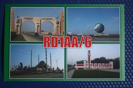 Russia. Chechen Republic - Chechnya. Groznyi Capital, Kadyrov Mosque - Modern Postcard QSL - Chechnya