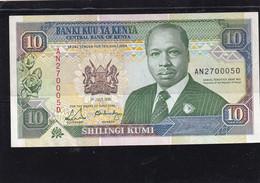 Kenia 10 Shillings  1991  Unc - Kenya