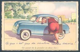 Illustrateur HOLZER ADI On Aurait Dû La Prendre En Deux Fois Humour - Humor
