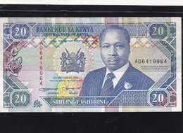 Kenia 20 Shillings  1993 XF - Kenya